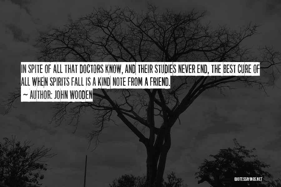 Best Doctors Quotes By John Wooden