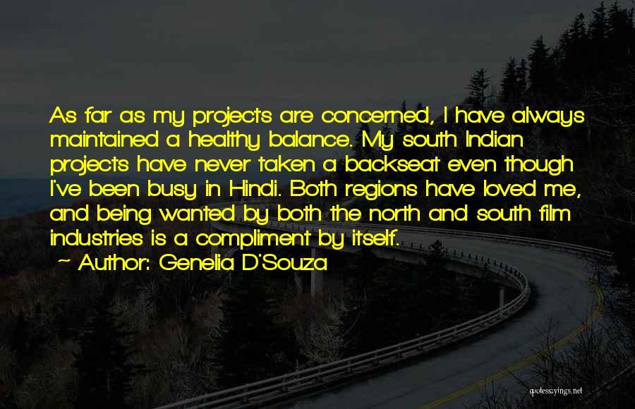 Best Film Hindi Quotes By Genelia D'Souza