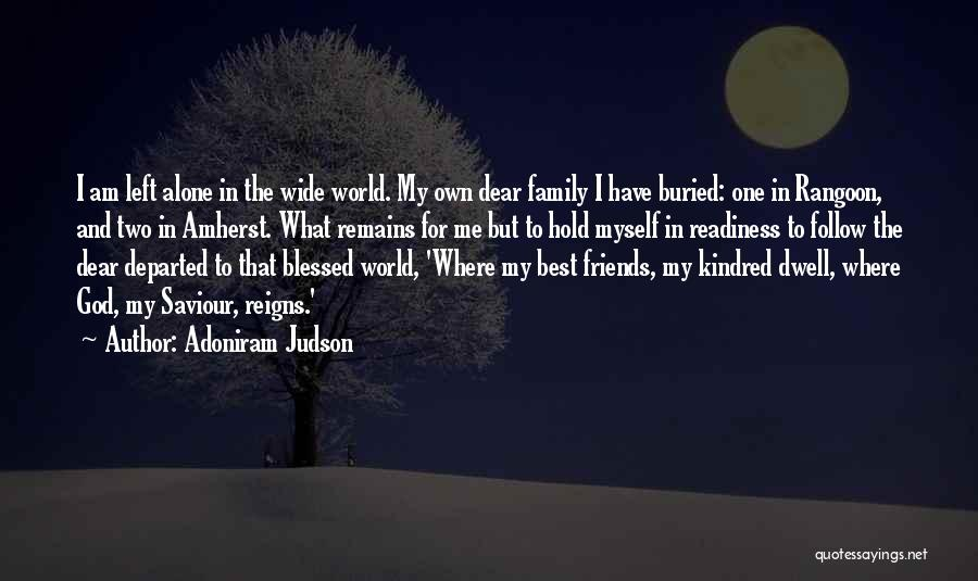 Best Follow Me Quotes By Adoniram Judson