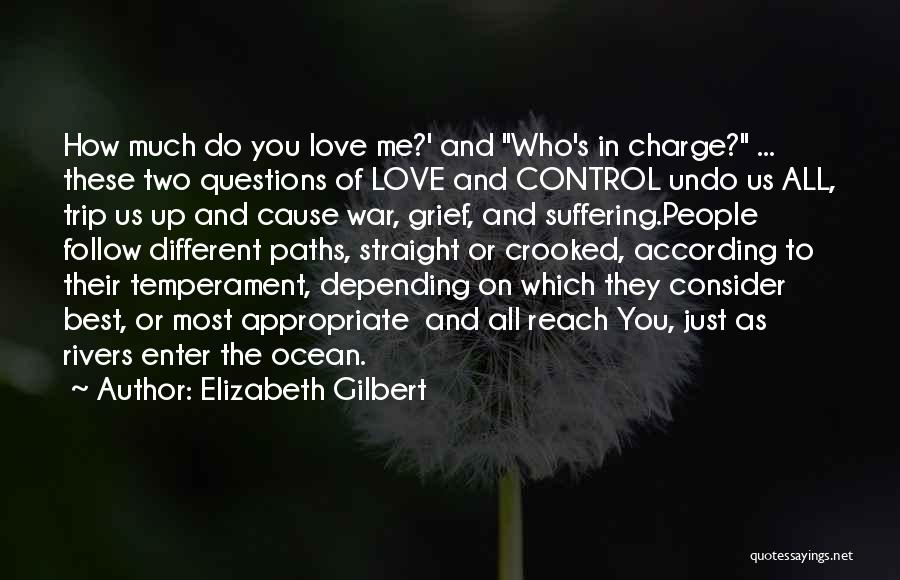 Best Follow Me Quotes By Elizabeth Gilbert