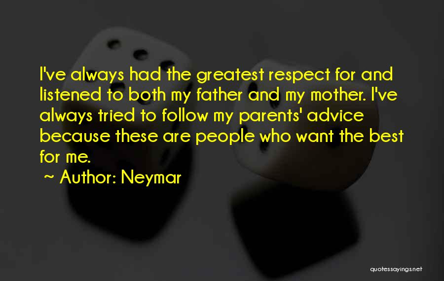 Best Follow Me Quotes By Neymar