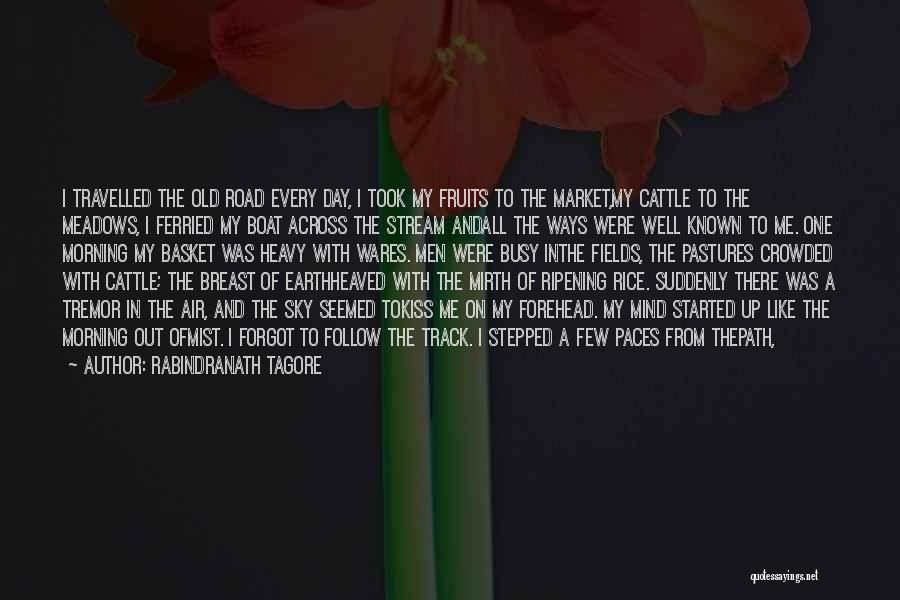 Best Follow Me Quotes By Rabindranath Tagore