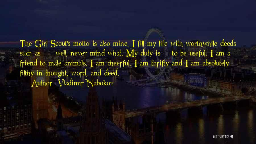 Best Friend Male Quotes By Vladimir Nabokov