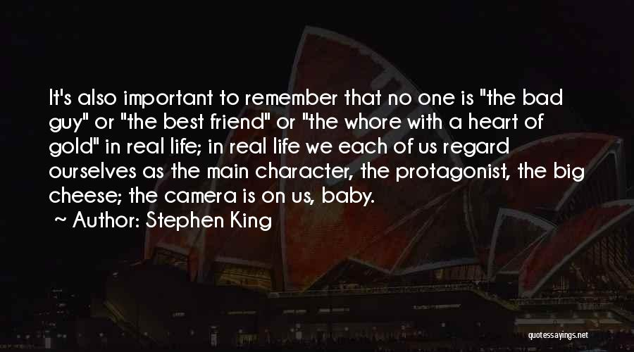 Best Friend We Heart It Quotes By Stephen King