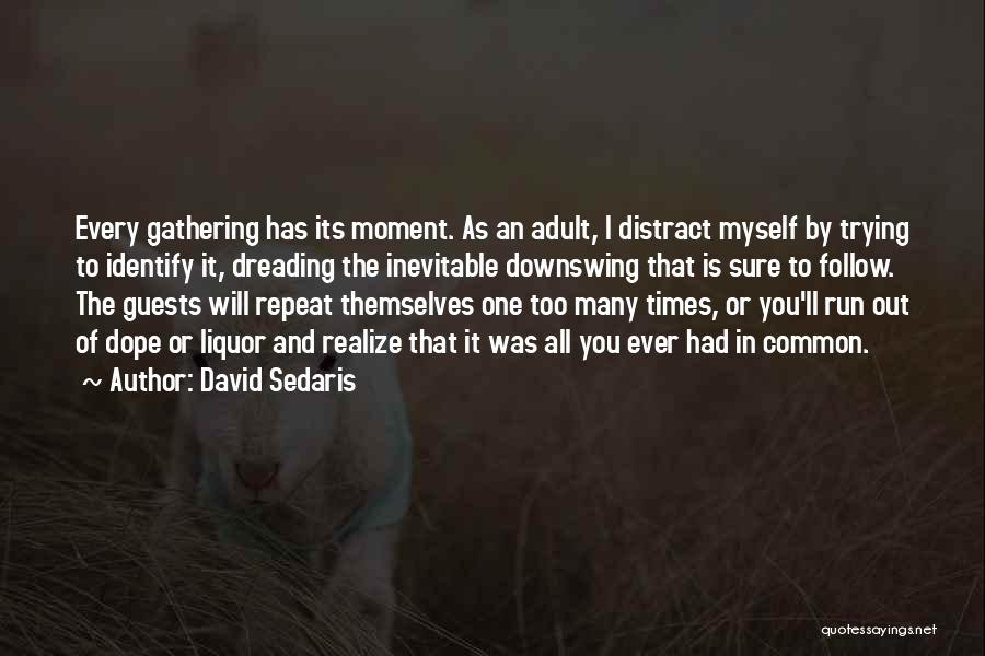 Best Friends And Alcohol Quotes By David Sedaris