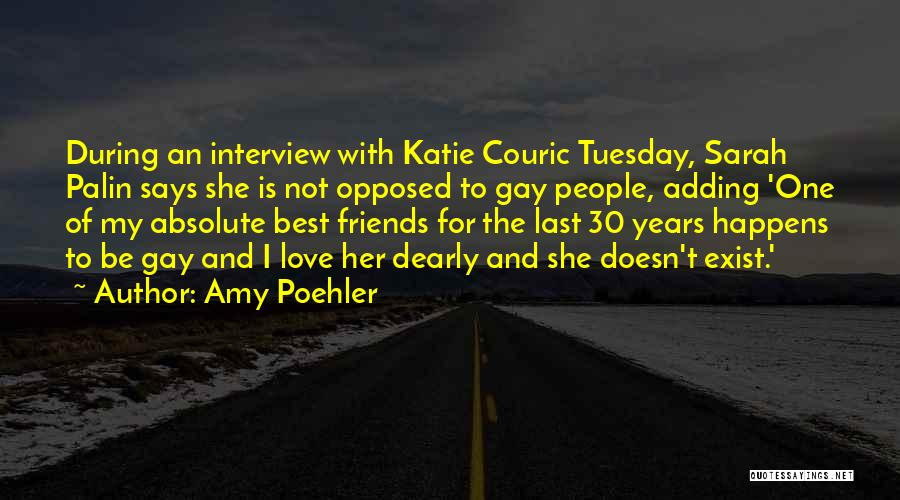 Best Friends And Love Quotes By Amy Poehler