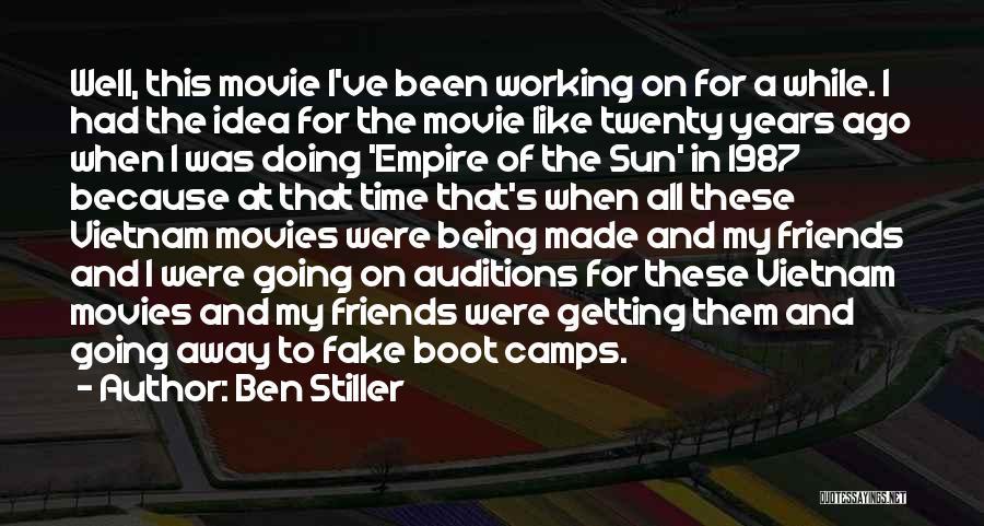 Best Friends Being Fake Quotes By Ben Stiller