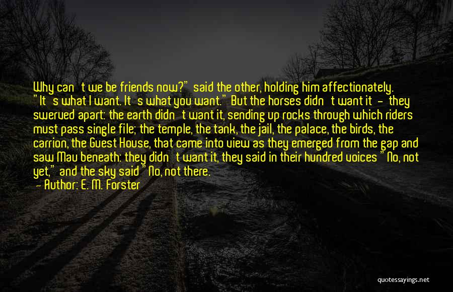 Best Friends Far Apart Quotes By E. M. Forster