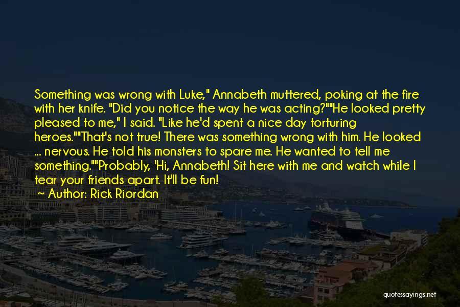 Best Friends Far Apart Quotes By Rick Riordan