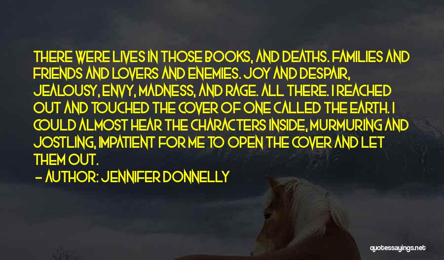 Best Friends Madness Quotes By Jennifer Donnelly