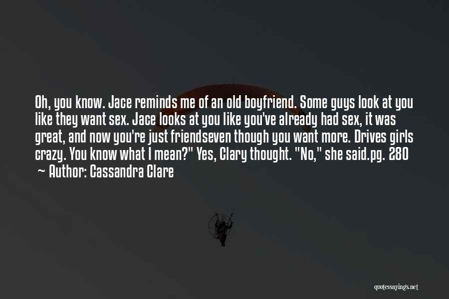 Best Friends Over Boyfriends Quotes By Cassandra Clare