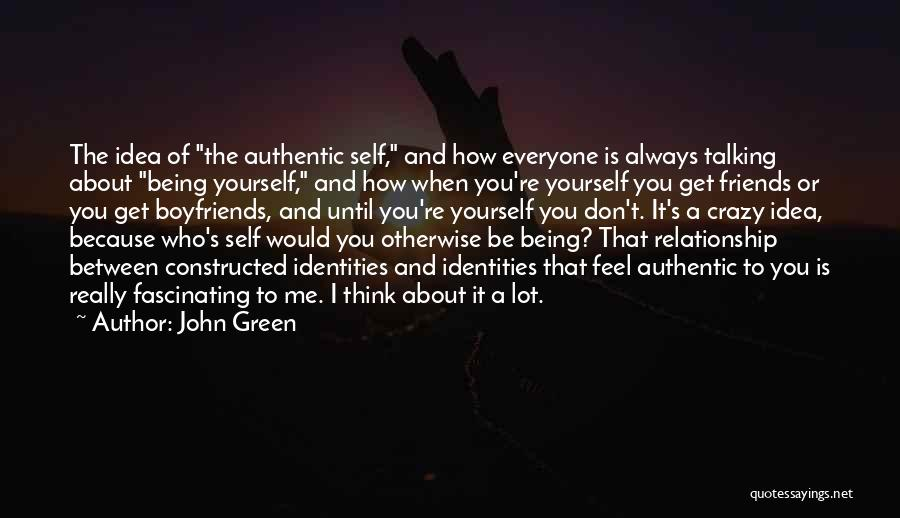 Best Friends Over Boyfriends Quotes By John Green