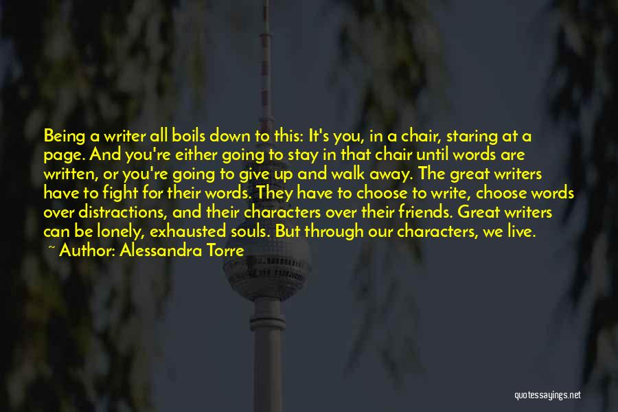 Best Friends That Live Far Away Quotes By Alessandra Torre