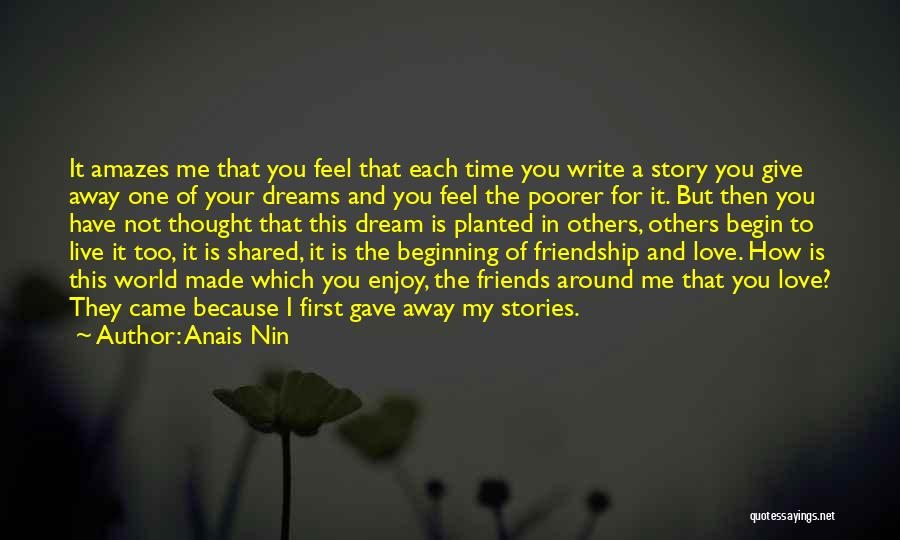 Best Friends That Live Far Away Quotes By Anais Nin