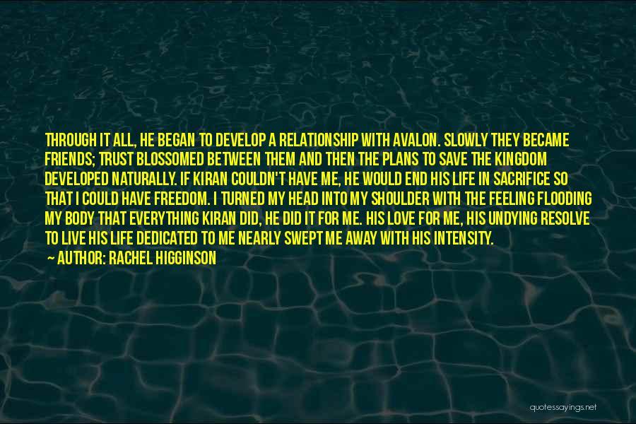 Best Friends That Live Far Away Quotes By Rachel Higginson