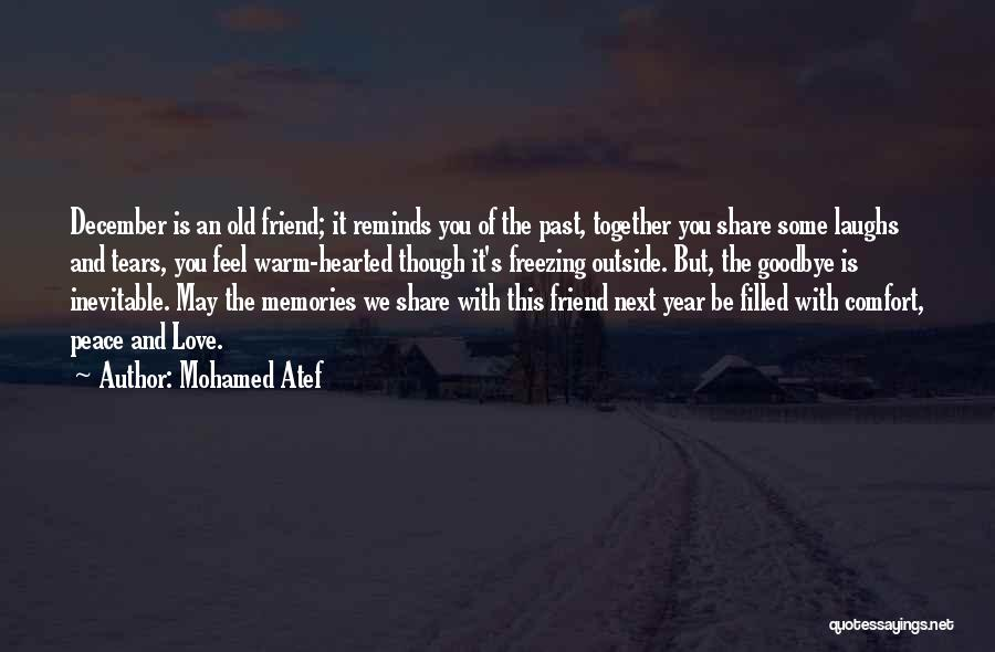 Best Friendship Goodbye Quotes By Mohamed Atef