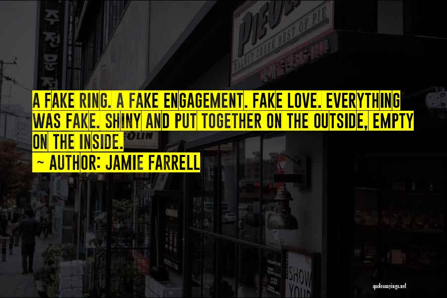 Best Funny Engagement Quotes By Jamie Farrell
