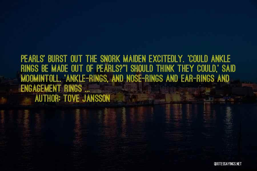Best Funny Engagement Quotes By Tove Jansson