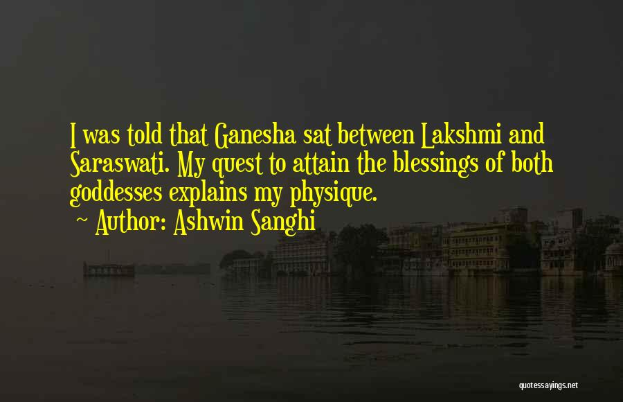 Best Ganesha Quotes By Ashwin Sanghi