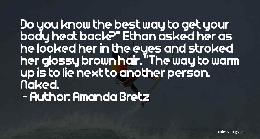 Best Get Back Up Quotes By Amanda Bretz