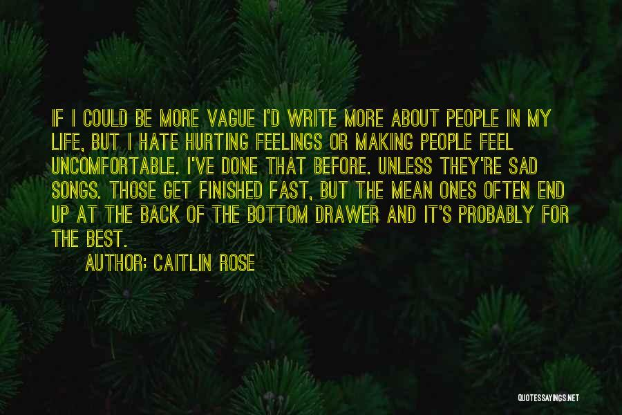 Best Get Back Up Quotes By Caitlin Rose