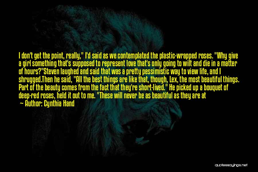 Best Get Back Up Quotes By Cynthia Hand