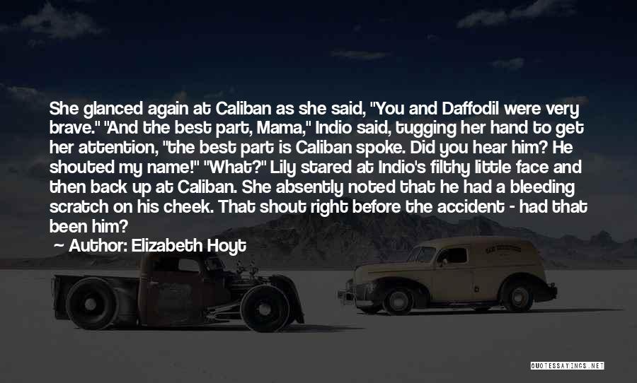 Best Get Back Up Quotes By Elizabeth Hoyt