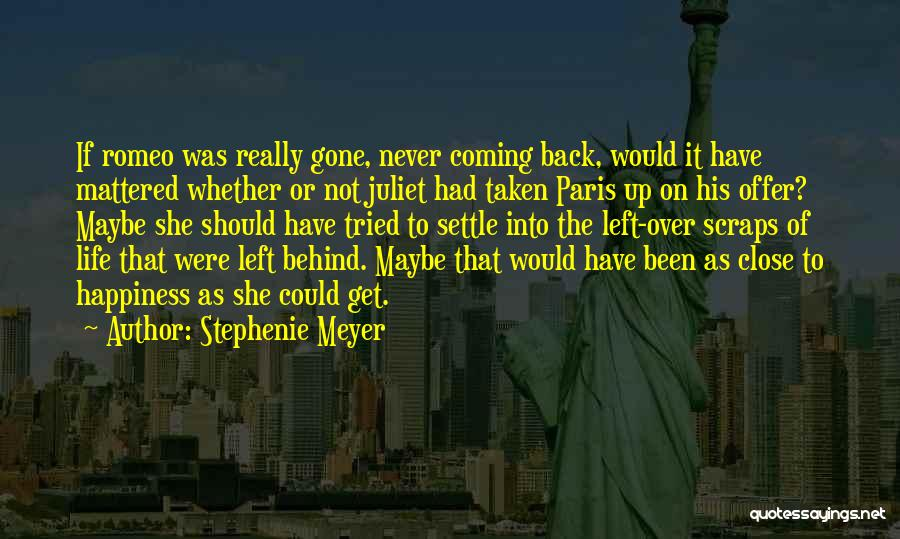 Best Get Back Up Quotes By Stephenie Meyer