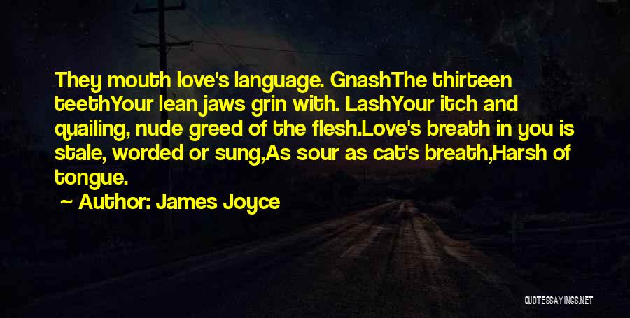 Best Gnash Quotes By James Joyce