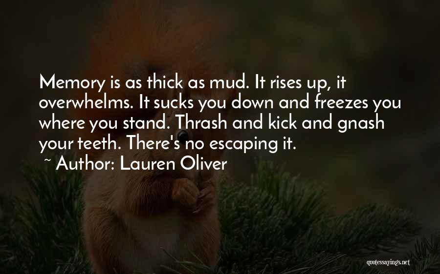 Best Gnash Quotes By Lauren Oliver