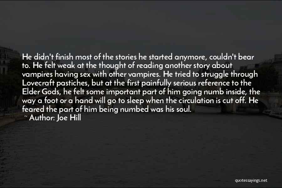 Best Go To Sleep Quotes By Joe Hill