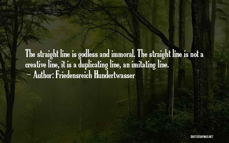 Best Godless Quotes By Friedensreich Hundertwasser