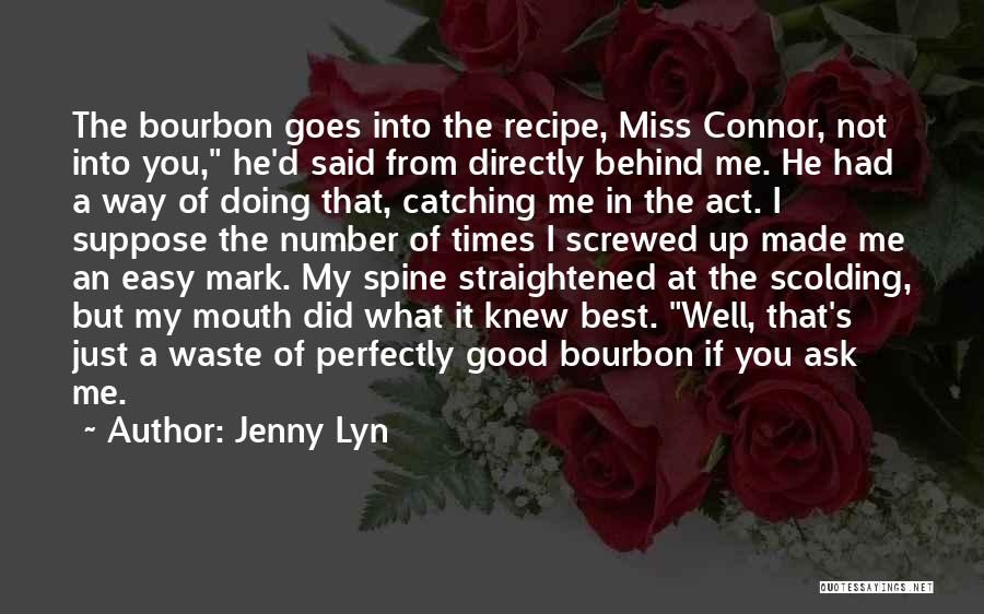 Best Good Food Quotes By Jenny Lyn