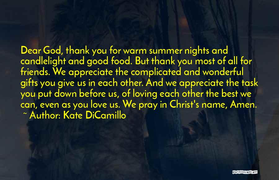 Best Good Food Quotes By Kate DiCamillo