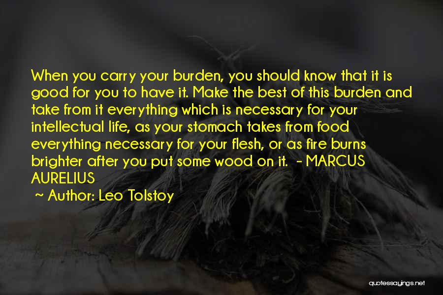 Best Good Food Quotes By Leo Tolstoy