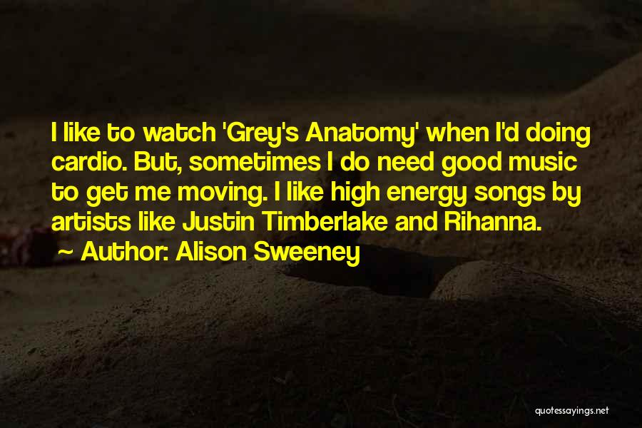 Best Grey's Anatomy Quotes By Alison Sweeney