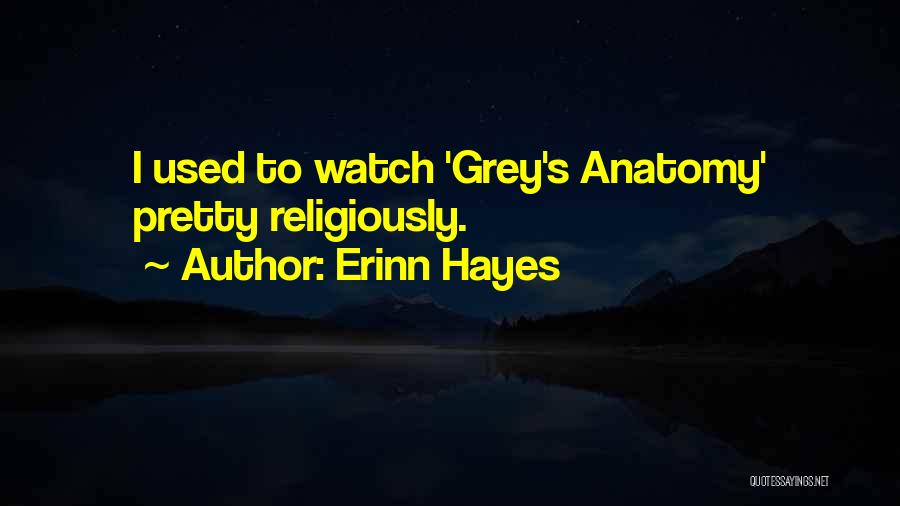 Best Grey's Anatomy Quotes By Erinn Hayes