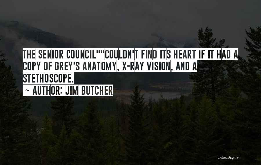 Best Grey's Anatomy Quotes By Jim Butcher