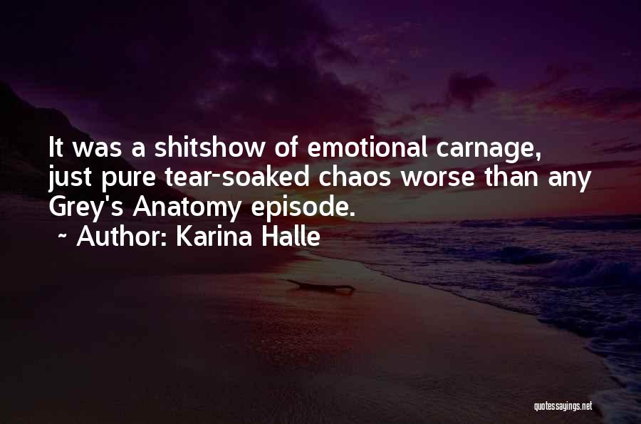 Best Grey's Anatomy Quotes By Karina Halle