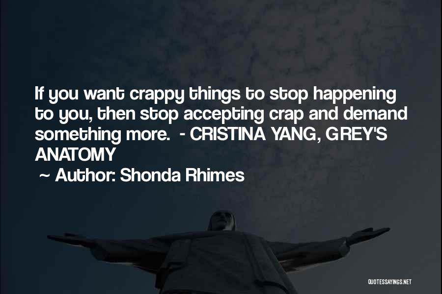Best Grey's Anatomy Quotes By Shonda Rhimes