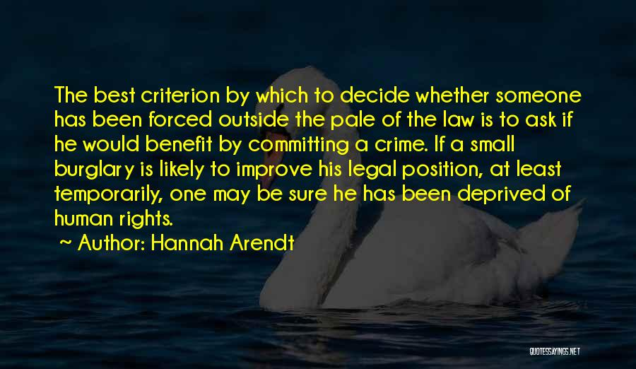 Best Hannah Quotes By Hannah Arendt