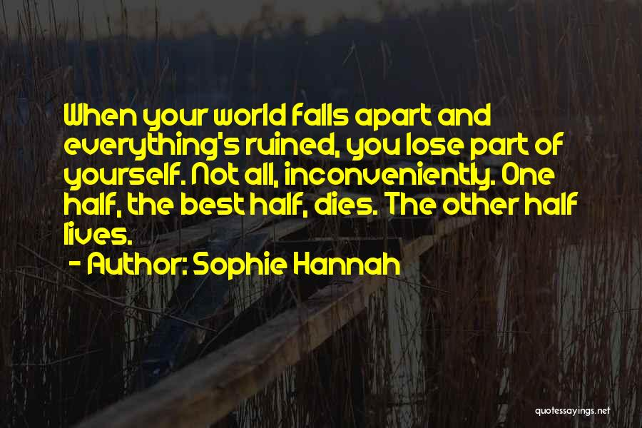 Best Hannah Quotes By Sophie Hannah