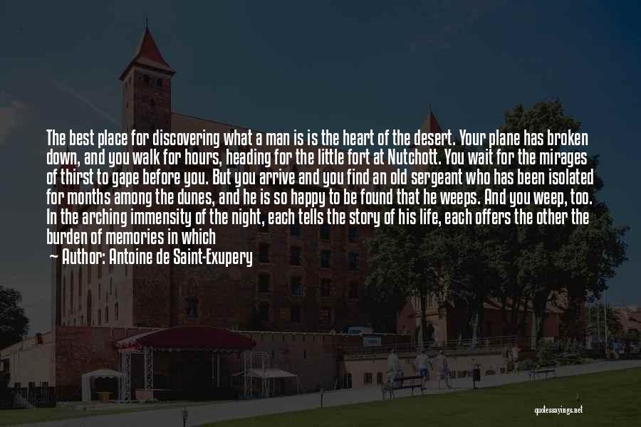 Best Happy Life Quotes By Antoine De Saint-Exupery