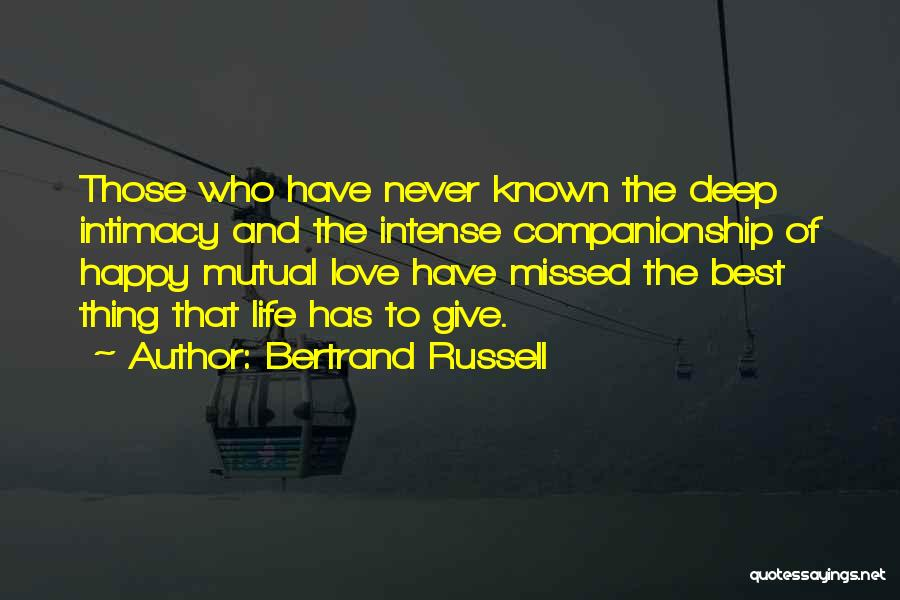 Best Happy Life Quotes By Bertrand Russell