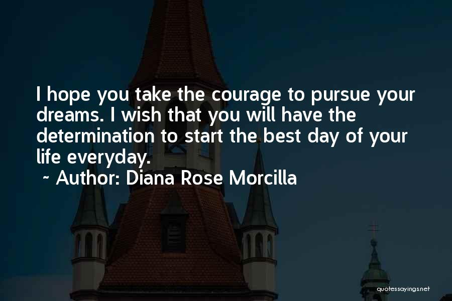 Best Happy Life Quotes By Diana Rose Morcilla