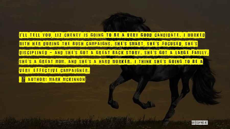Best Hard Worker Quotes By Mark McKinnon
