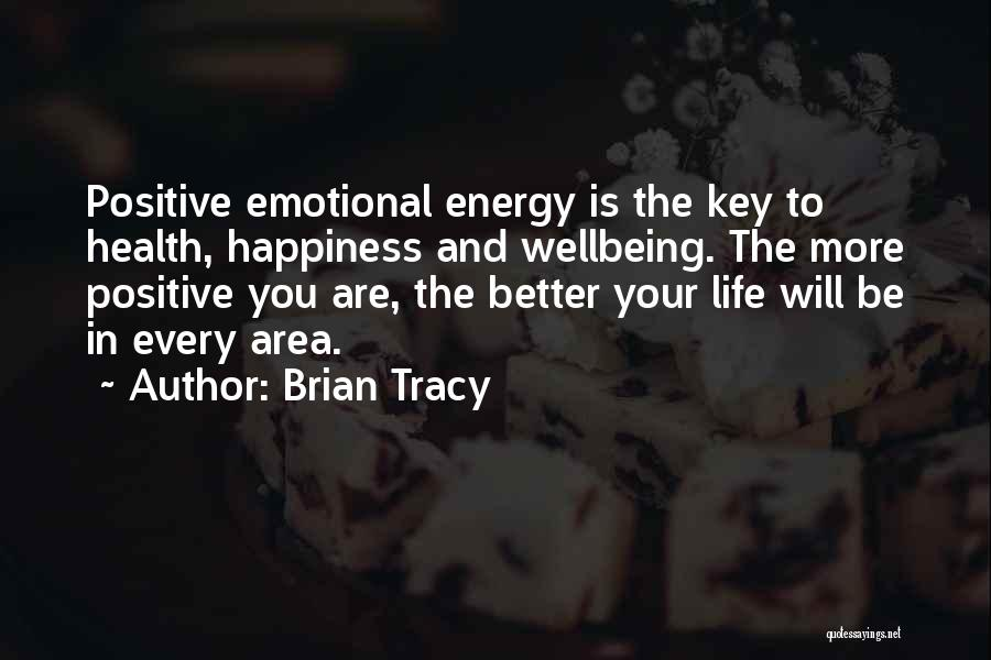 Best Health And Wellbeing Quotes By Brian Tracy