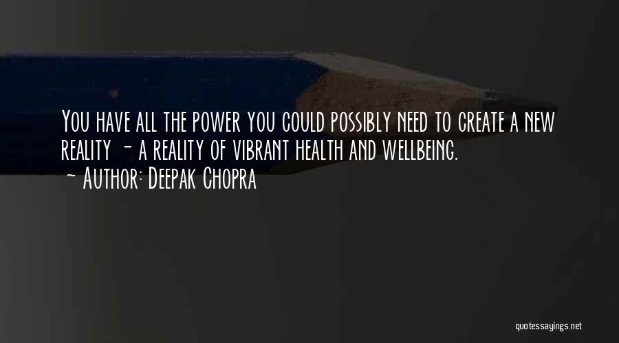 Best Health And Wellbeing Quotes By Deepak Chopra