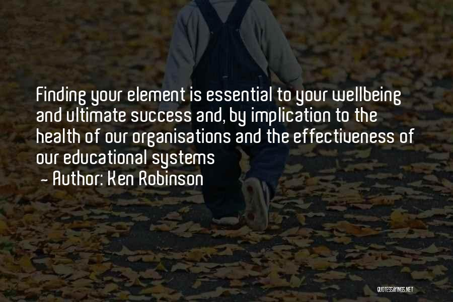 Best Health And Wellbeing Quotes By Ken Robinson