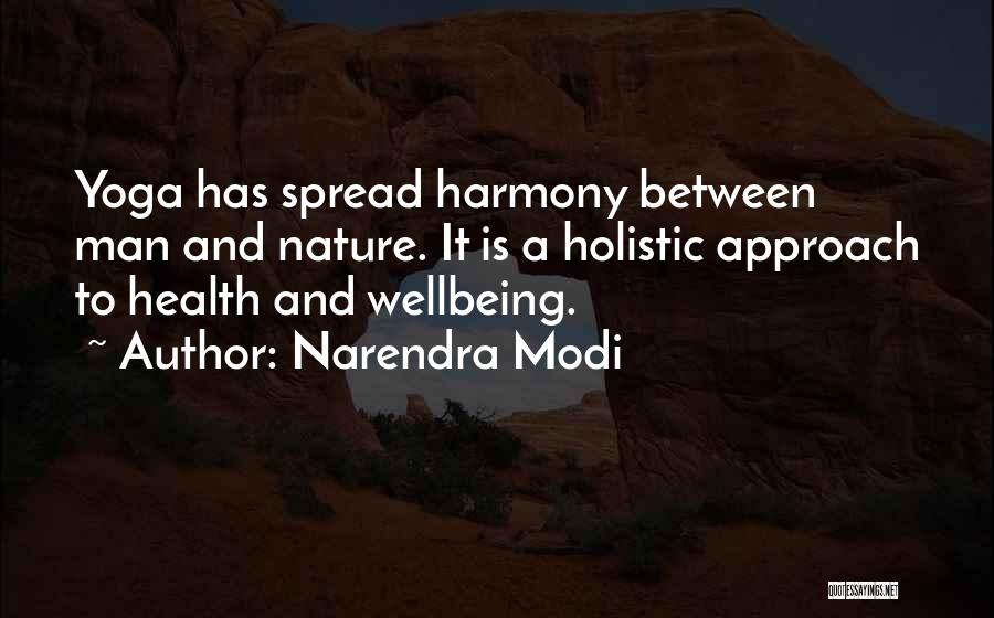 Best Health And Wellbeing Quotes By Narendra Modi